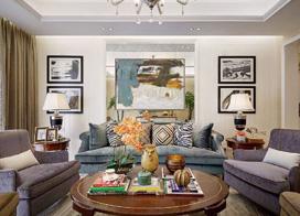一画点睛 14款客厅沙发背景墙效果图推荐