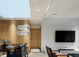 设计精致工艺精湛,130平米三室两厅现代简约风格装修图片