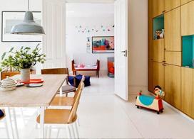 法式浪漫遇到北欧简洁,110平米两房两厅装修效果图