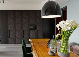 充满个性的北欧风公寓,102平米两房一厅装修效果图