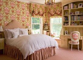 10款田园风格卧室,十分浪漫又舒服