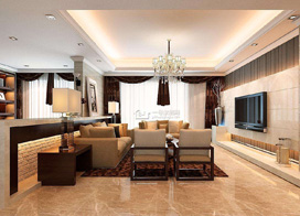 8款欧式客厅装修效果图,高贵典雅上档次