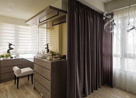 120平米室内后现代风格装修效果图