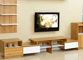 不同风格的组合电视柜图片欣赏