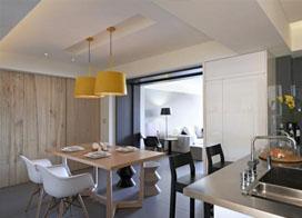 150平米家装现代简约风格,万能的黑白灰搭配