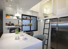 装修效果图 150平米现代简约装修风格3室2厅案例