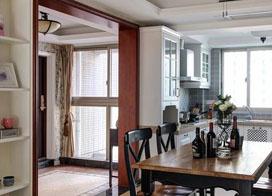 100平方美式风格精致室内装修设计效果图赏析