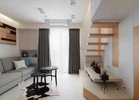 20平方小复式公寓装修效果图,打造温馨蜗居生活