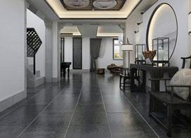 300平大户型别墅装修效果图,江南中式风