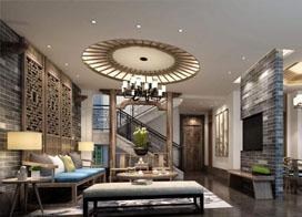 别墅客厅装修效果图,舒适大气
