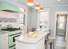 20款漂亮大气厨房装修效果图