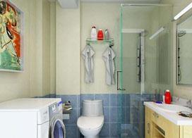六款小卫生间效果图欣赏,你喜欢吗?
