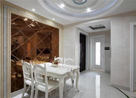 110平米欧式三房两厅装修效果图