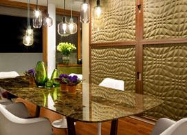 低调中的时尚与格调,90平米两房一厅装修效果图