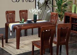 8款实木餐桌图片