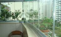 无框阳台窗的优缺点和价格
