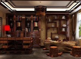 中式书房设计图片:意蕴悠扬,你最喜欢哪一种?