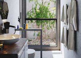 卫生间装修效果图 令人惊艳的设计!