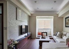 小户型客厅装修样板房,小巧精致同样是一种装修潮流