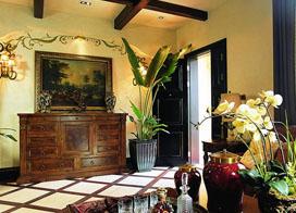 东南亚风格别墅内部装修效果图