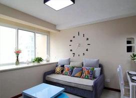 利落温馨,79平米现代简约风两房一厅装修效果图