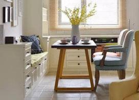 现代美式混搭三室两厅装修效果图