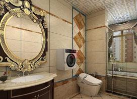卫生间装修效果图,小空间的大作为