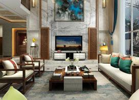 中式独栋别墅装修效果图,优雅时尚大气