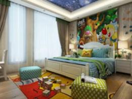 高清儿童房混搭风格精美图集,给孩子一个舒适安心的成长环境