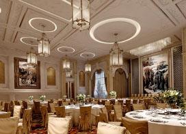 10张高端奢华酒店宴会厅效果图