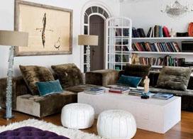 16款波西米亚风格客厅 色彩浓烈浪漫