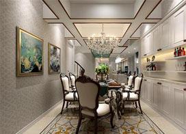 新古典设计,240平米私人别墅设计装修效果图