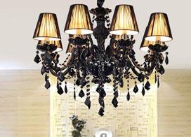 水晶吊灯如何设计?水晶蜡烛灯效果图欣赏