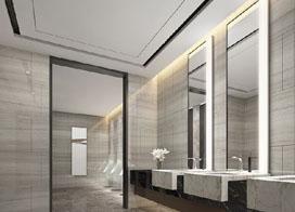 设计灵感图,公共卫生间装修效果图合集