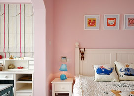 15款粉色卧室图片, 从小到大的粉色都包了