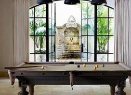 让台球室优雅华丽起来,台球室效果图欣赏
