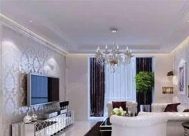 客厅现代水晶灯图片:梦幻视觉,品质享受
