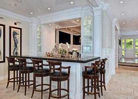 5款别墅厨房装修效果图,淡雅大方