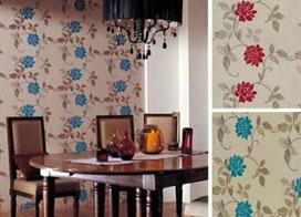 欧式花纹壁纸效果图片,描绘出一道美丽的风景