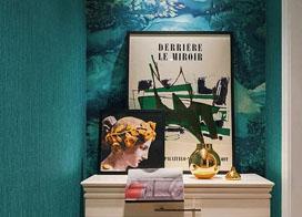 室内设计案例:美式别墅设计效果图片展示