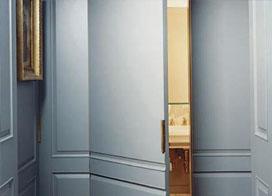 卫生间暗门效果图片,使用且美观