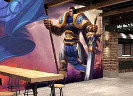 好看有创意的商场壁画效果图片欣赏