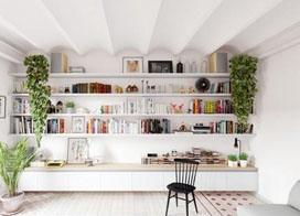 北欧风公寓室内设计效果图片欣赏