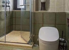 各种形状卫生间淋浴房效果图欣赏