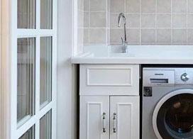 20款洗衣机组合柜效果图片展示