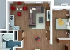 单身公寓如何装修:12款单身公寓装修效果图