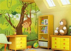 六款环保儿童手绘墙欣赏