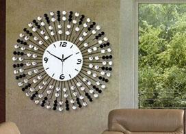 一组客厅挂钟图片展示