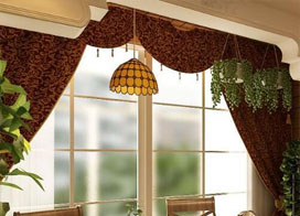 受欢迎的阳台窗帘图片