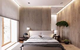 20款有个性的卧室床头背景墙效果图片